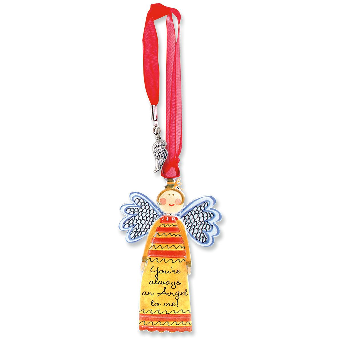 Always an Angel Bookmark Charm