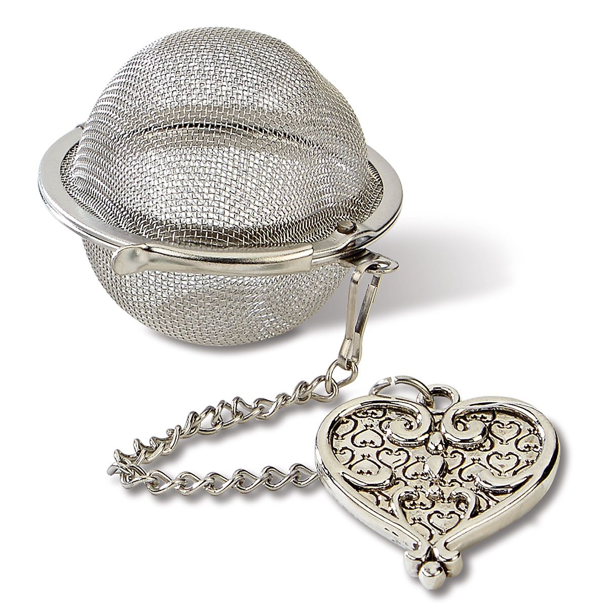 Tea Infuser Charm - Heart