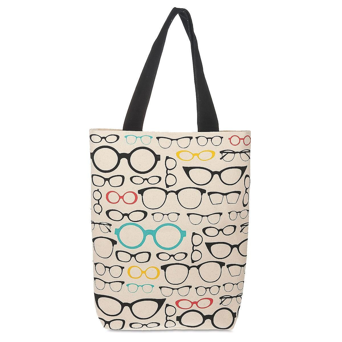 Book Club Glasses Tote Bag