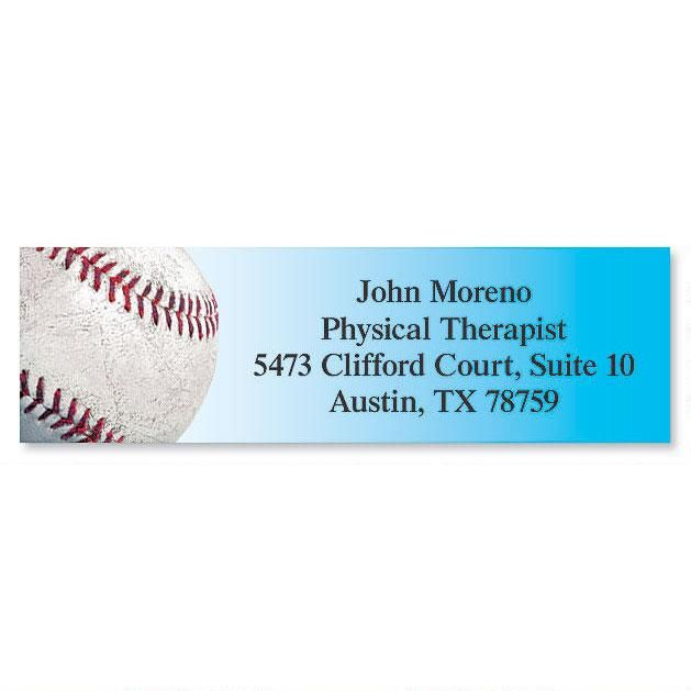 Baseball Classic Address Labels