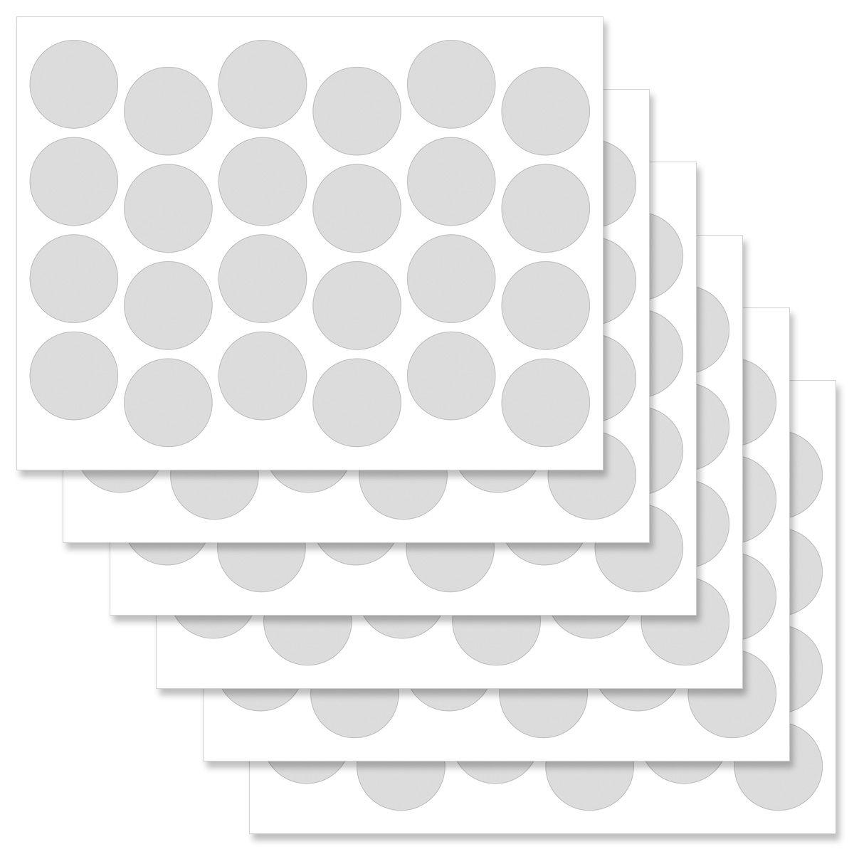 Holly Round Address Label
