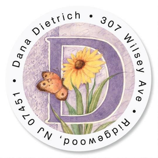 Spring Alpha Initial Round Address Labels
