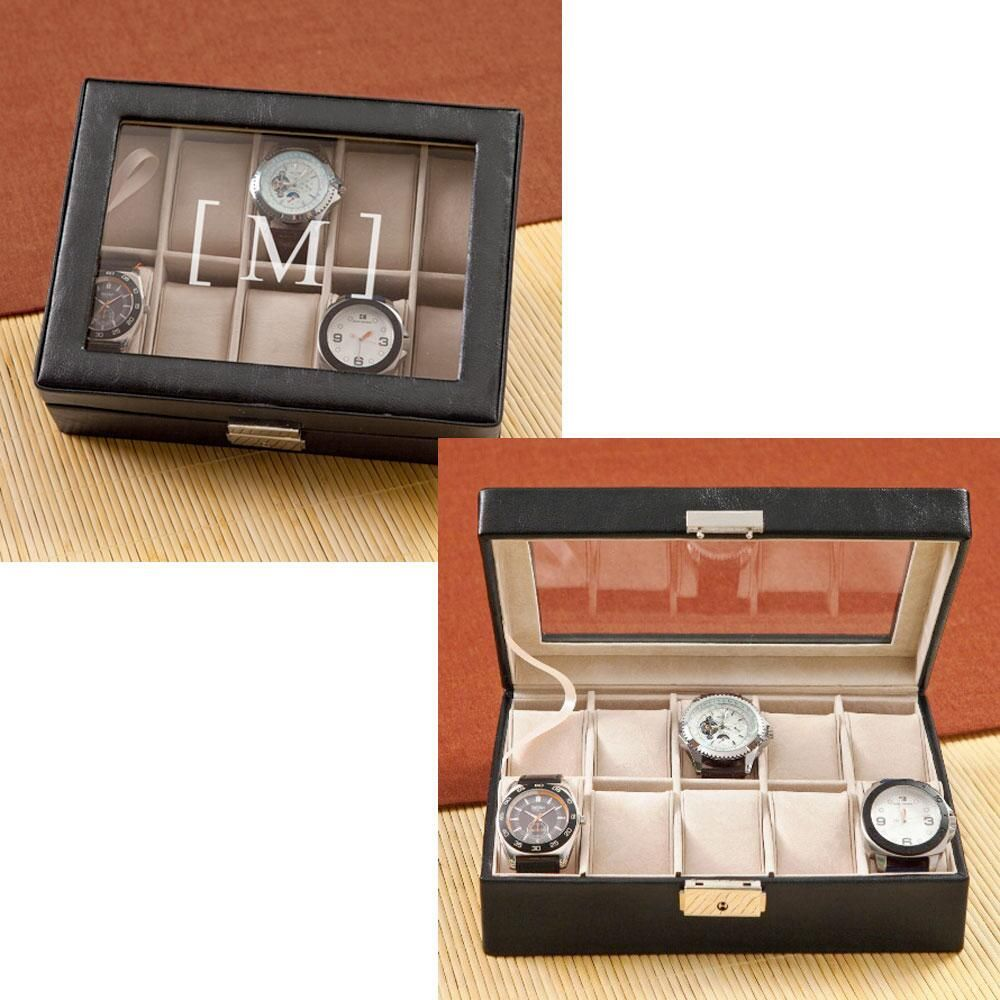Men's Personalized Watch Box