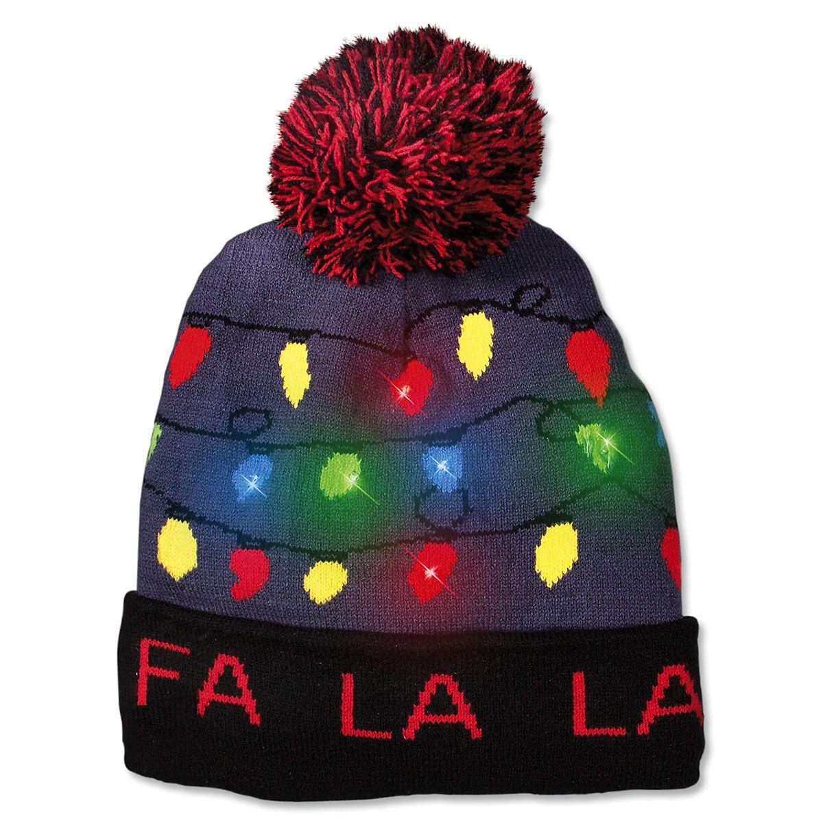 Fa La La La Beanie Hat