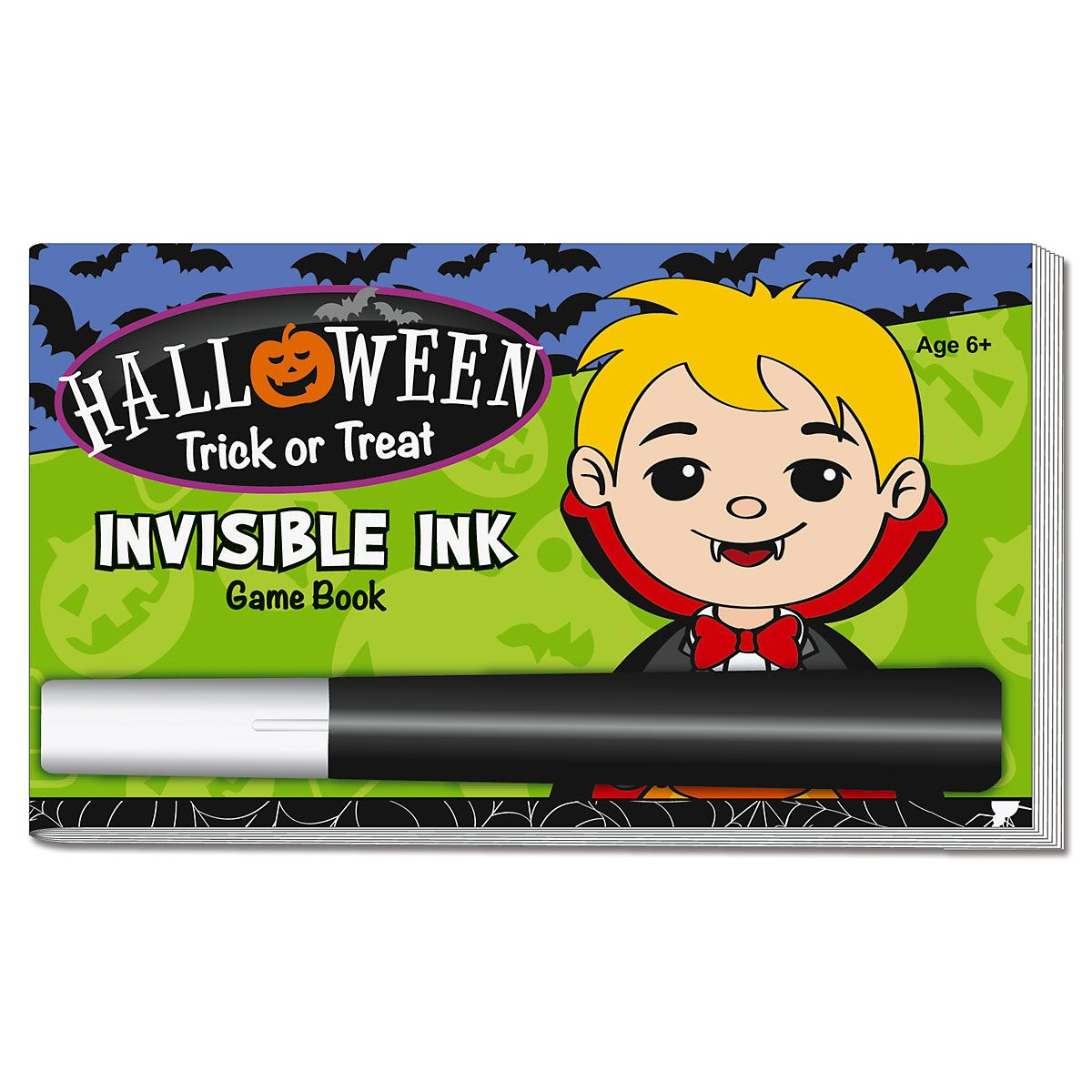 Spooky Fun Invisible Ink Activity Book