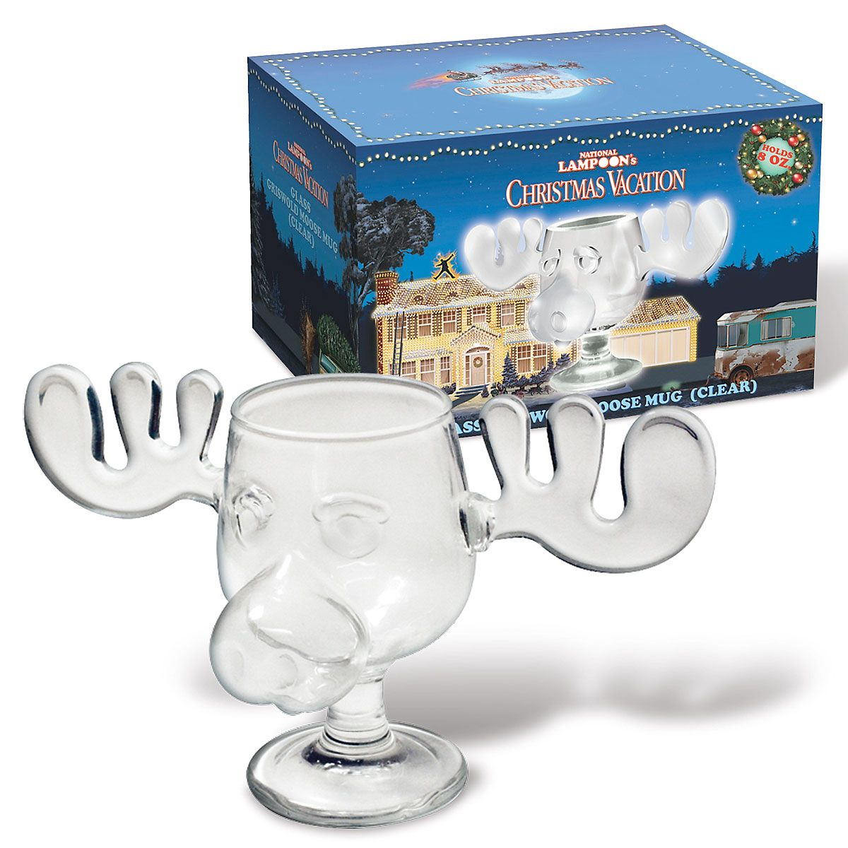 Christmas Vacation Moose Mug