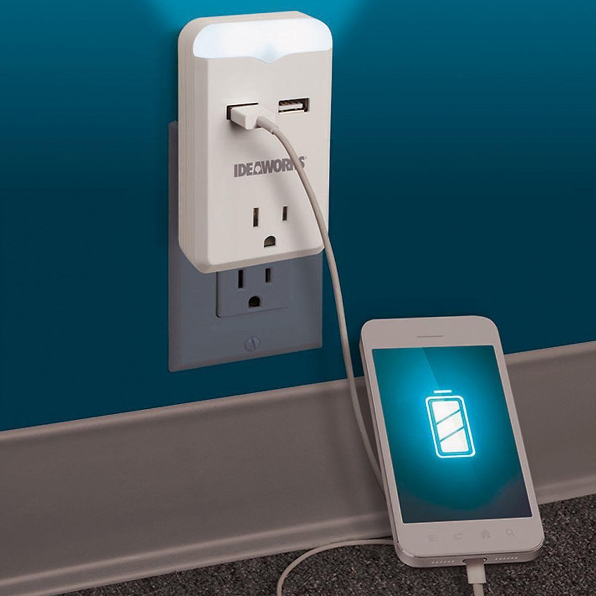 USB Outlet Nightlight