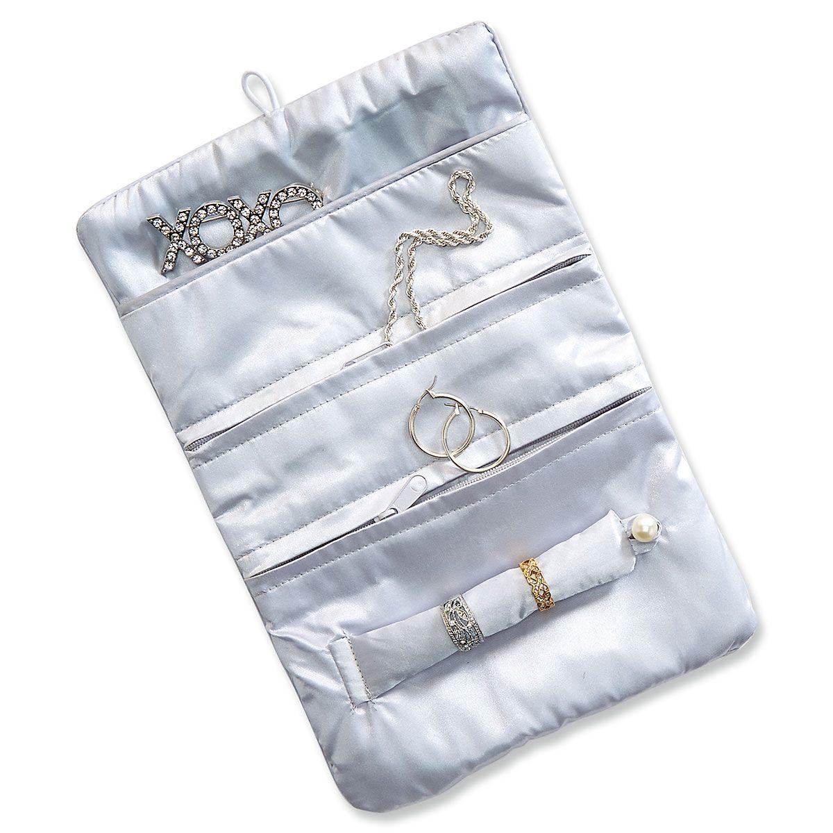 Zig-Zag Jewelry Roll
