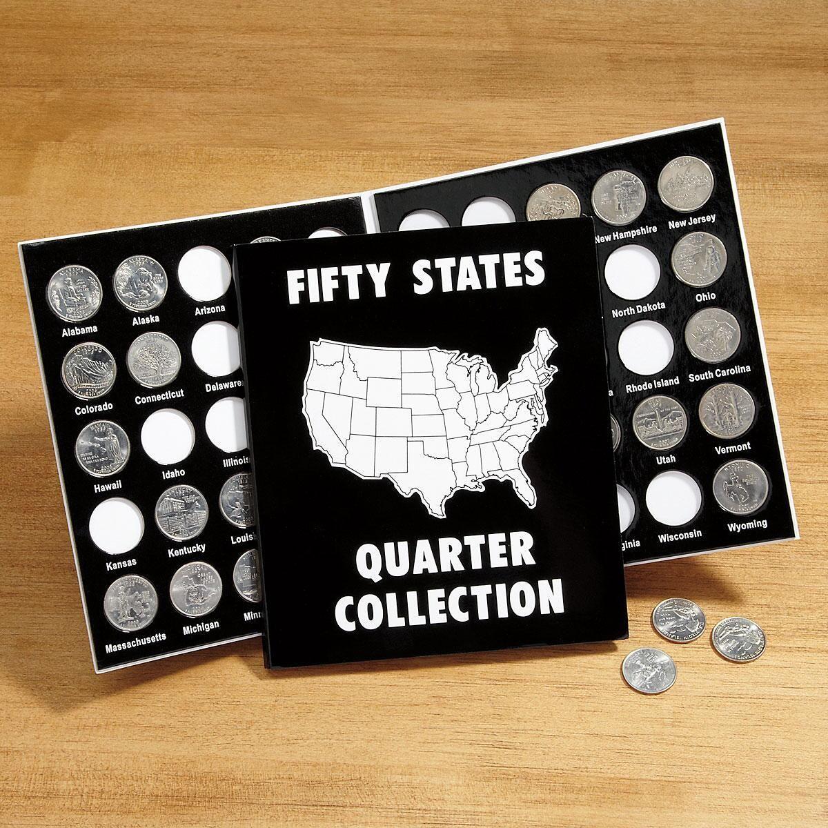 50 States Quarter Album