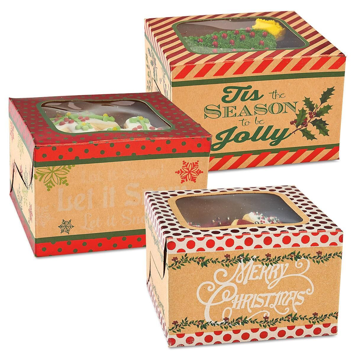 Kraft Cookie Boxes