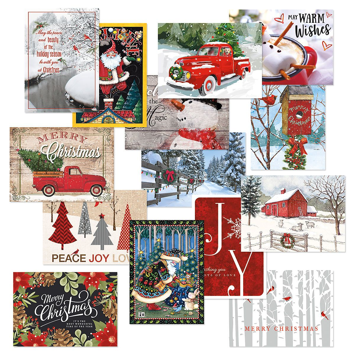 Christmas Classic Cards Value Pack