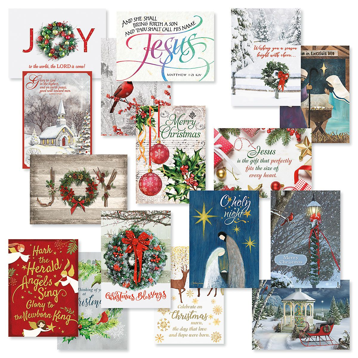 Expressions of Faith® Christmas Card Value Pack