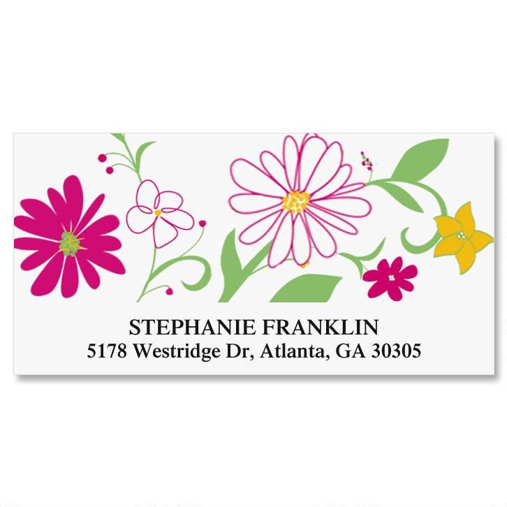 Fresh Breeze Deluxe Address Labels