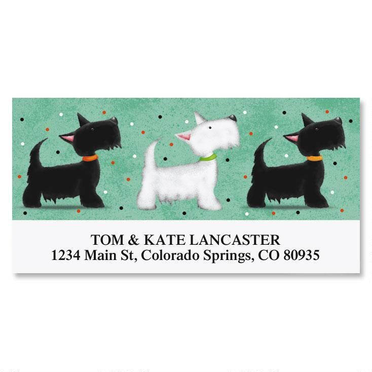 Scotties Deluxe Address Labels
