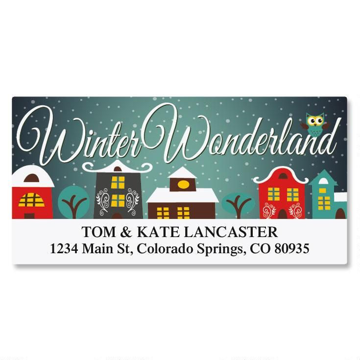 Village Deluxe Address Labels