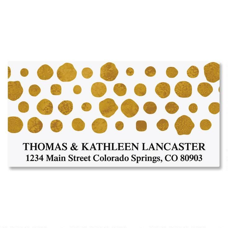 Dots Deluxe Address Labels