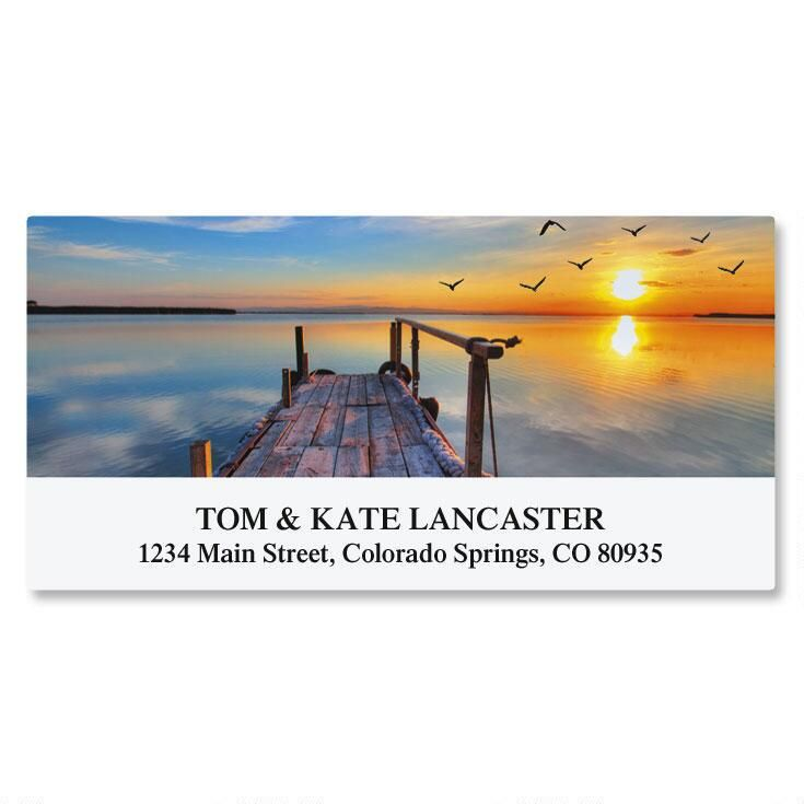 Dockside Deluxe Address Labels
