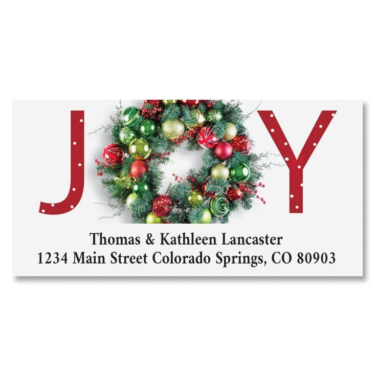Great Joy Deluxe Address Label