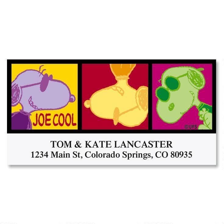 Joe Cool  Address Labels