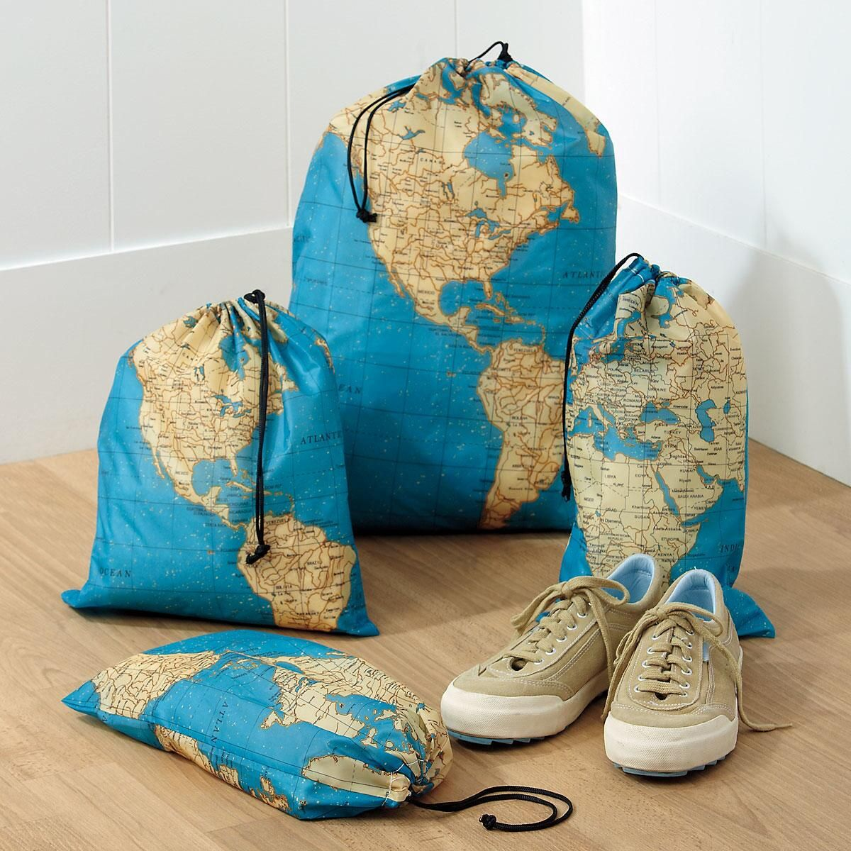 Around the World Travel Bag Set
