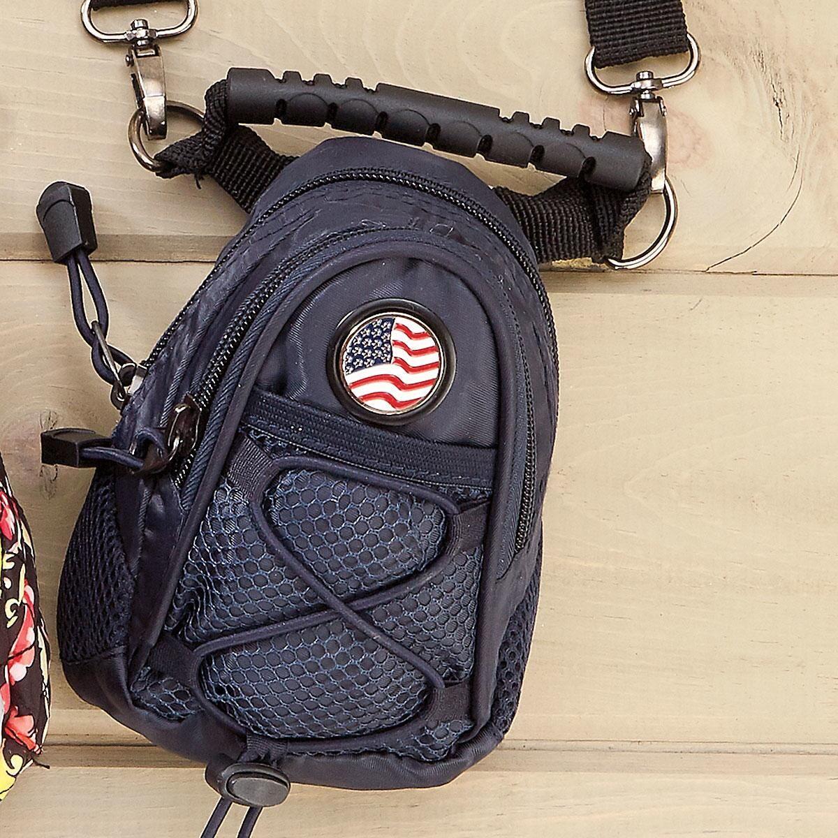 Black Mini Backpack/Purse