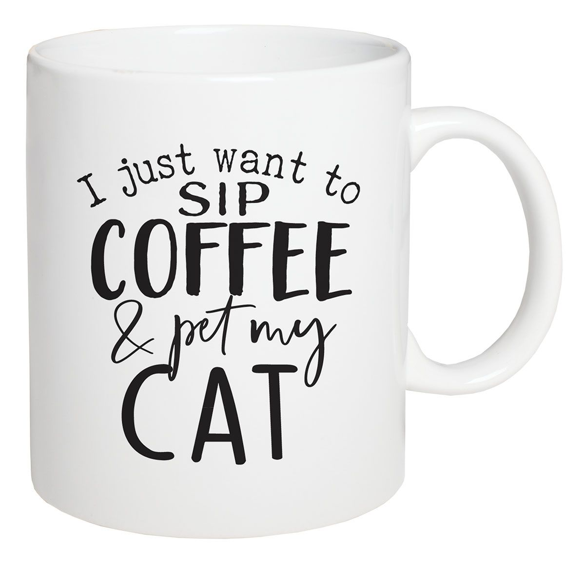 Sip Coffee and Pet My Cat