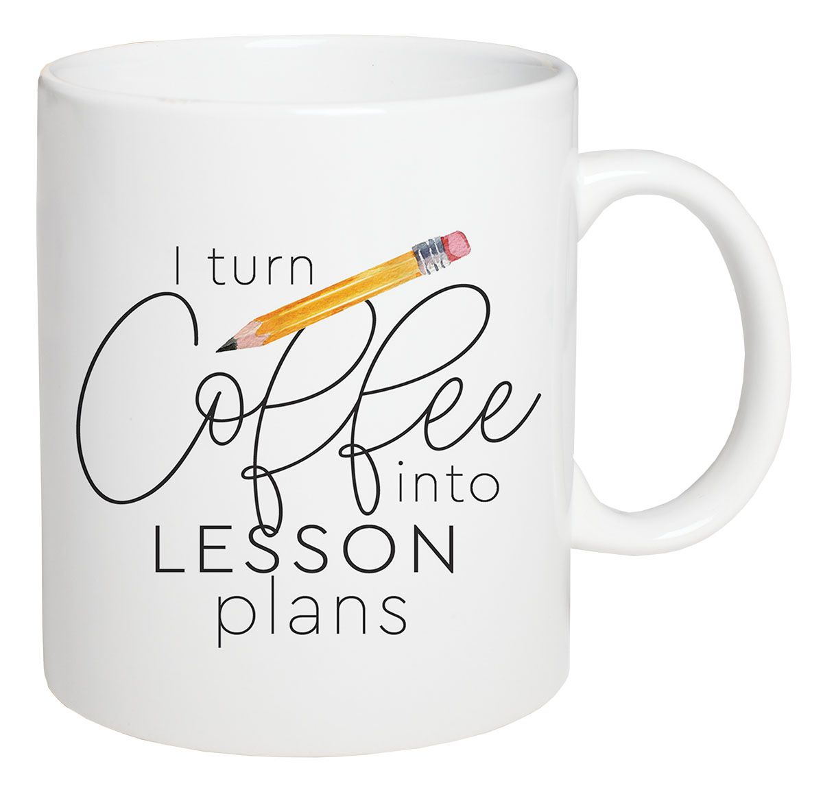 I Turn Coffee Into Lesson Plans Coffee Mug