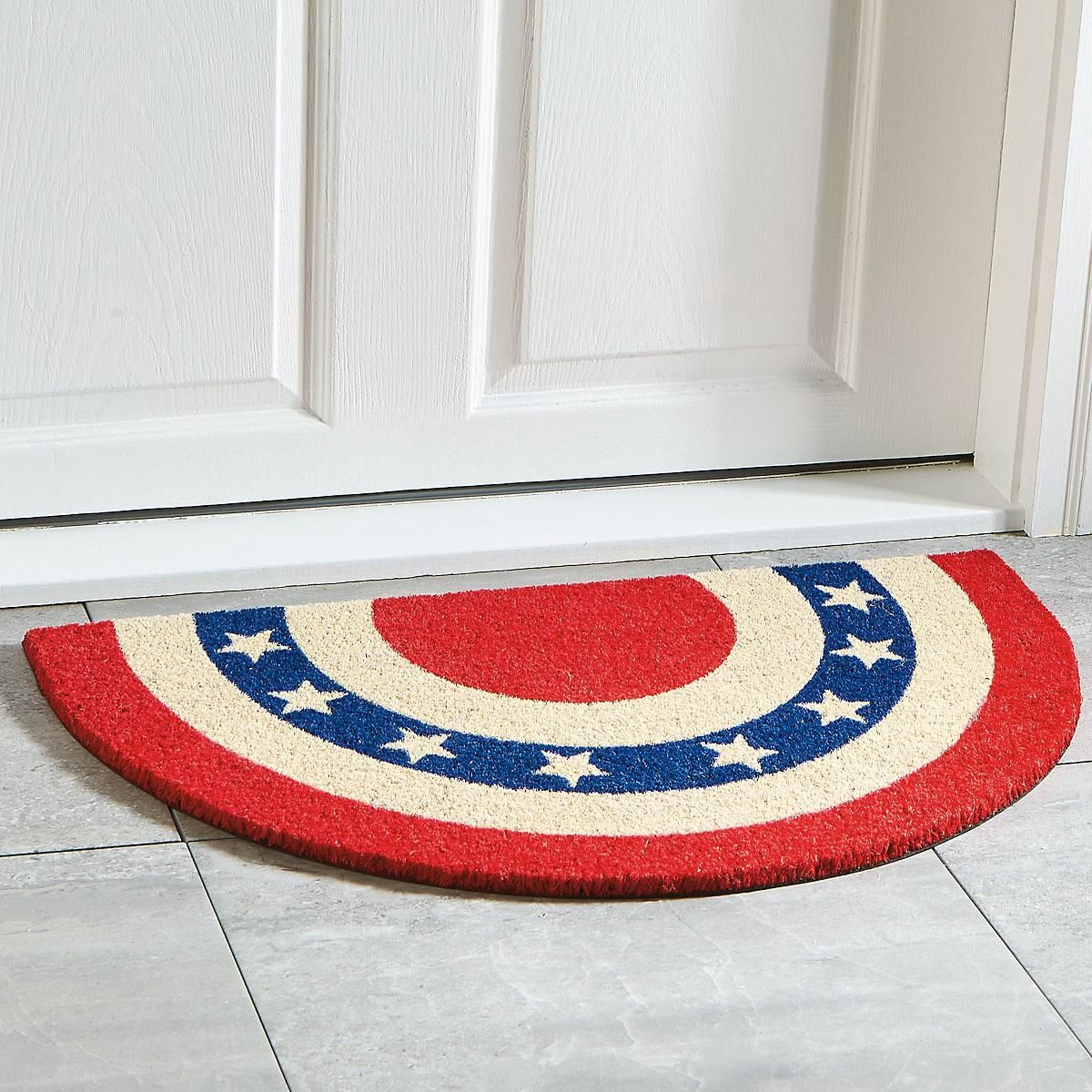 Americana Door Mat