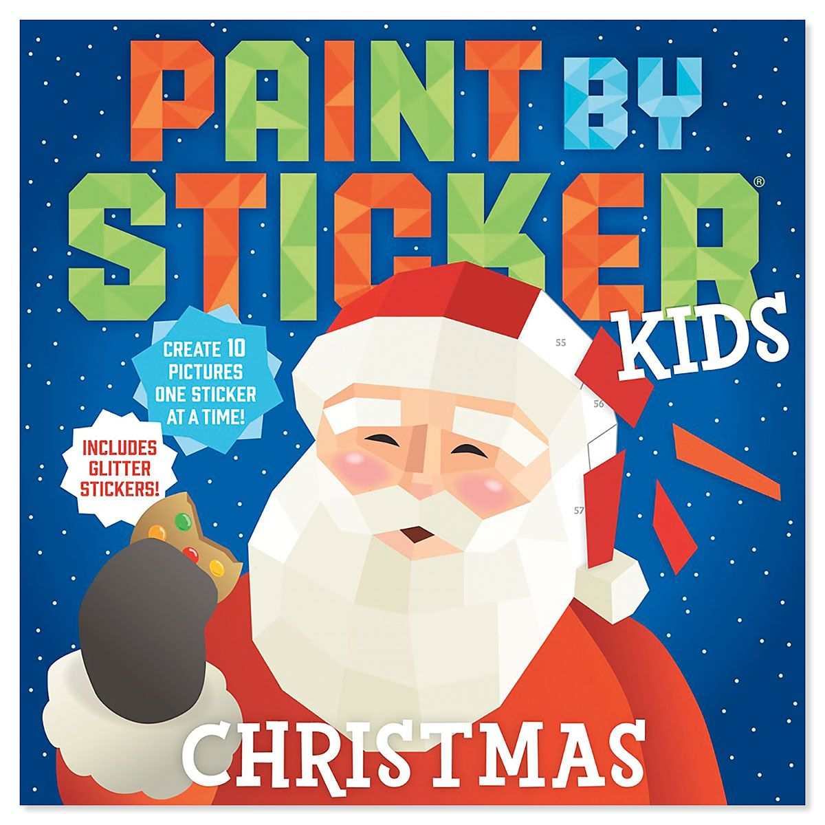 Christmas Paint by Sticker