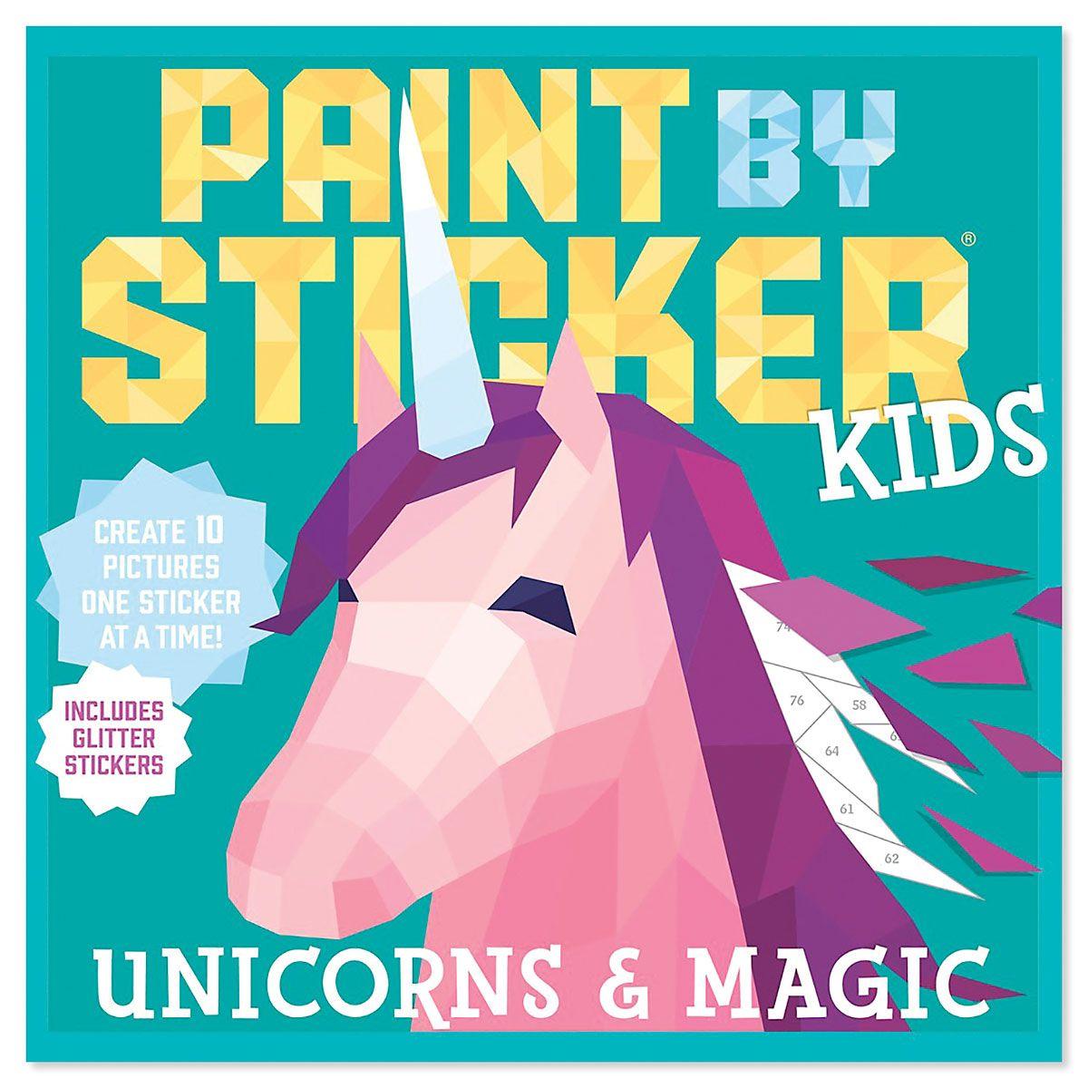 Unicorn Paint by Sticker