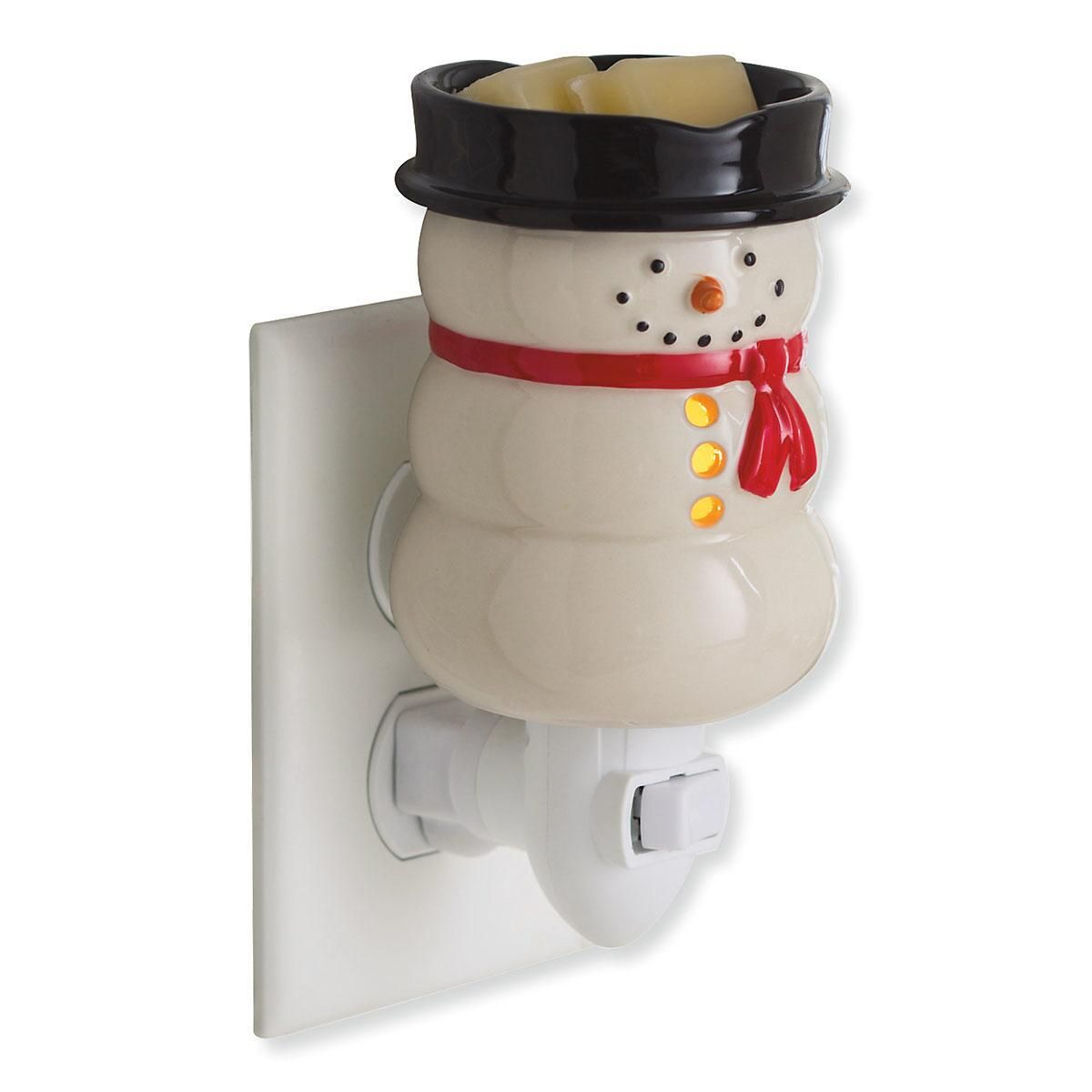 Snowman Nightlight Candle Warmer