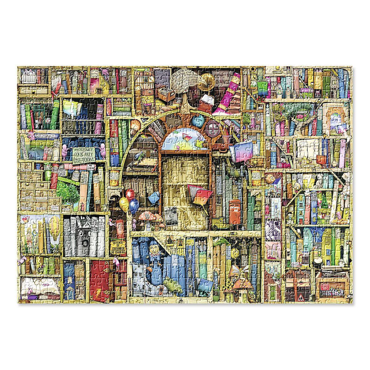 Bizarre Bookshop Puzzle