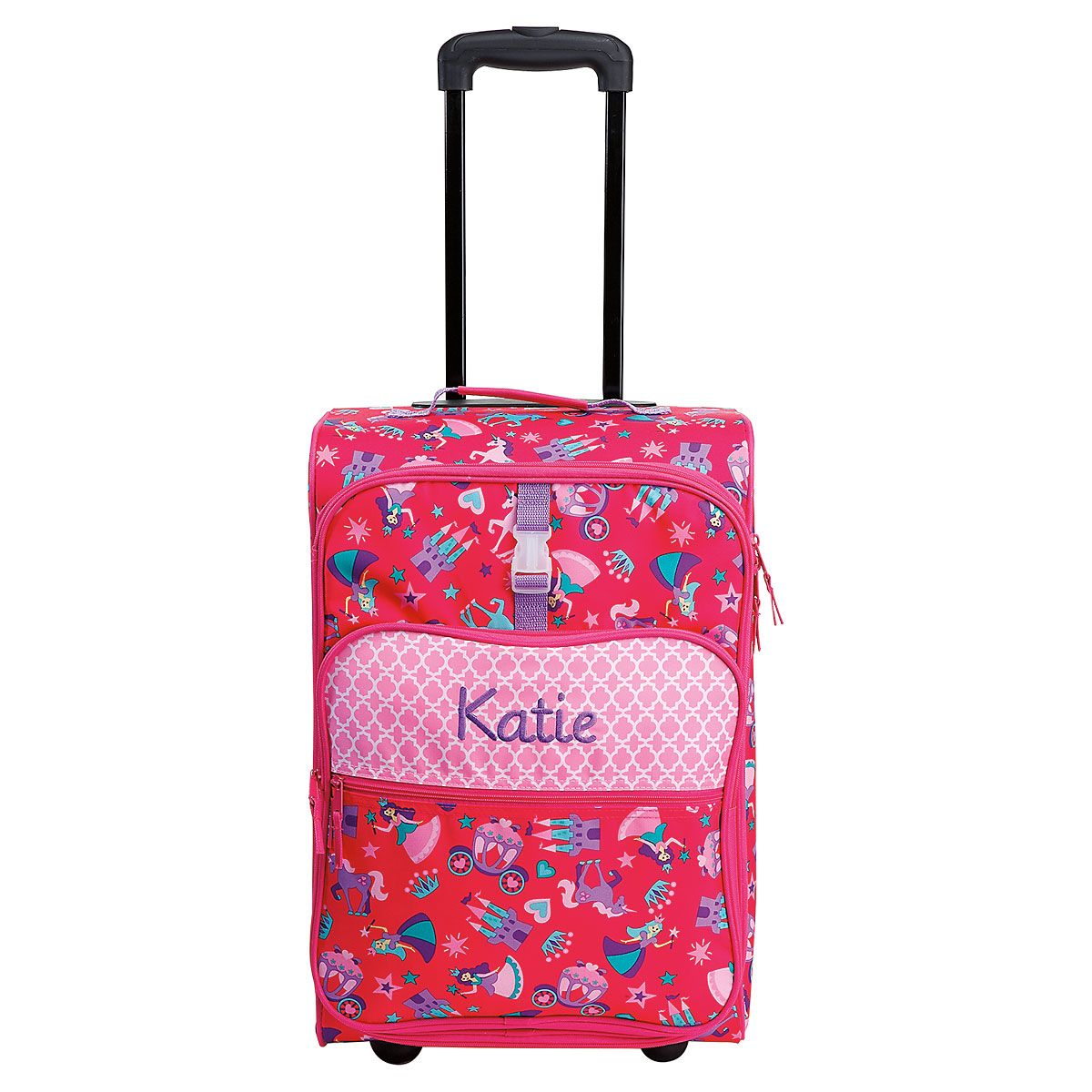 "All-Over Princess Print 22"" Rolling Luggage by Stephen Joseph®"