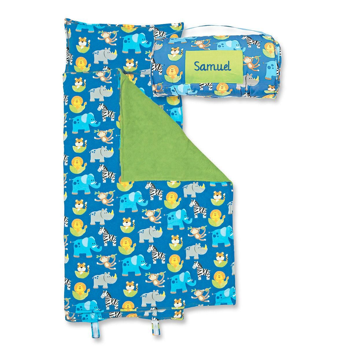 Personalized All-Over Zoo Print Nap Mat by Stephen Joseph®