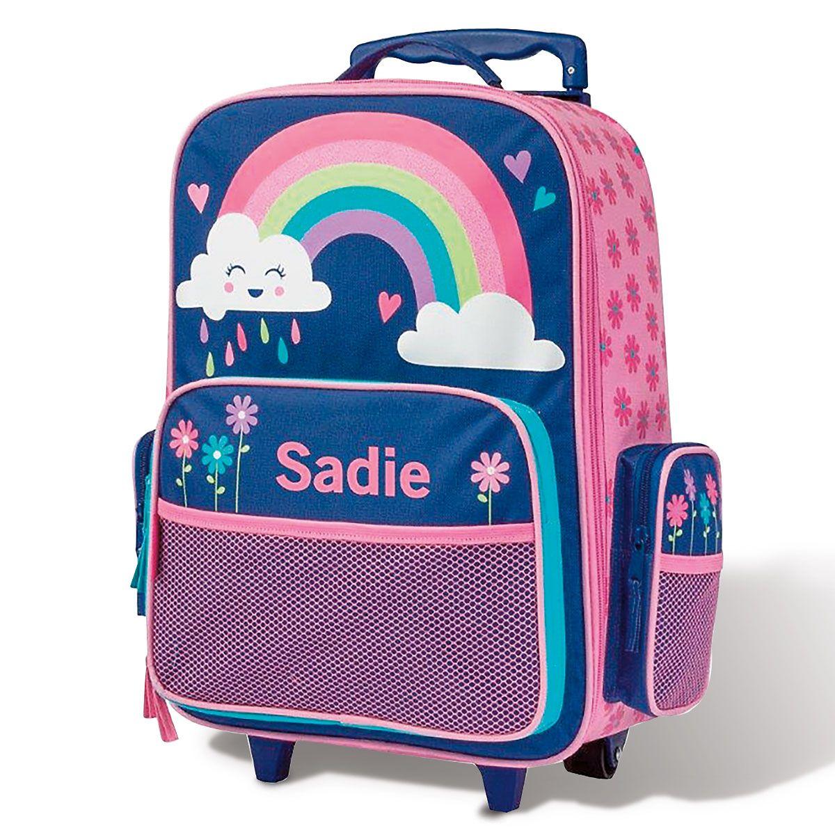 "Rainbow Rolling Luggage 18"" by Stephen Joseph®"