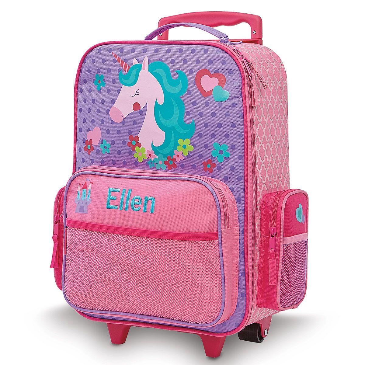 "Unicorn Rolling Luggage 20"" by Stephen Joseph®"