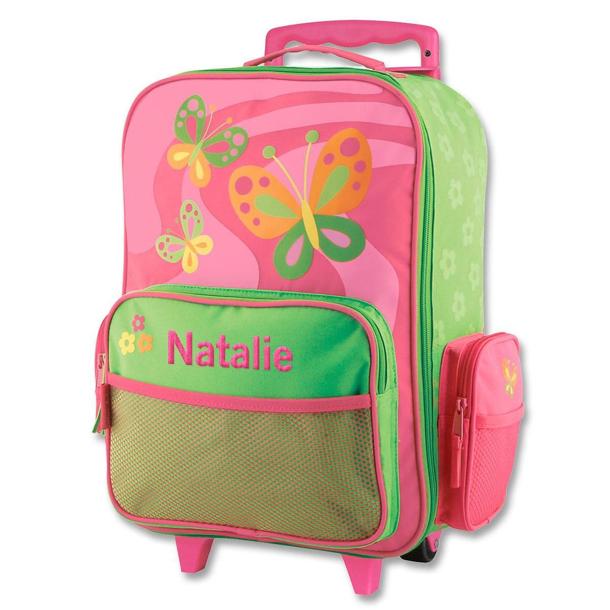 "Butterfly Rolling Luggage 18"" by Stephen Joseph®"