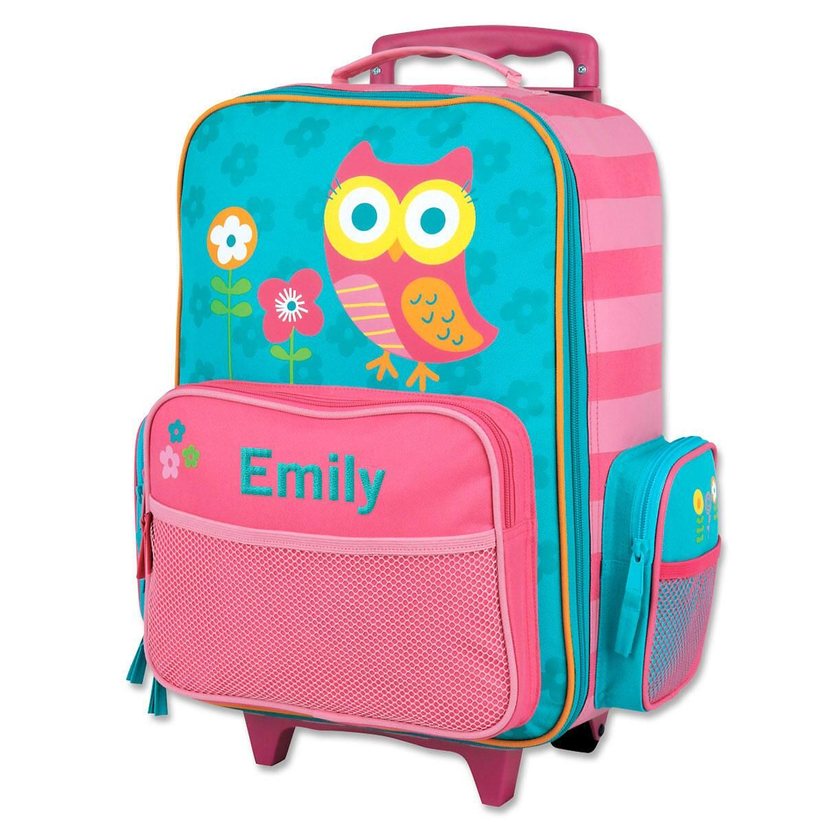 """Owl Rolling Luggage18"""" by Stephen Joseph®"""