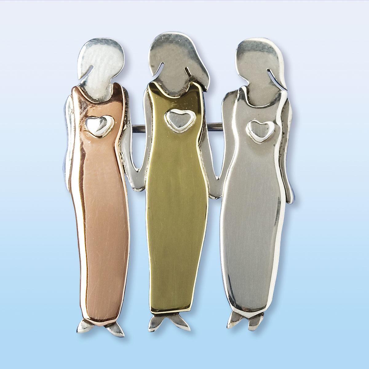 3 Sisters Pin