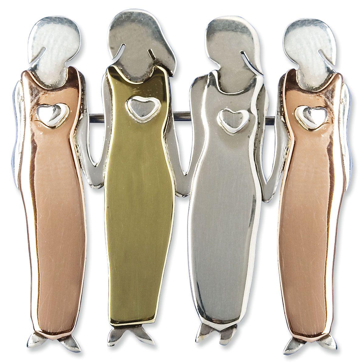 4 Sisters Pin