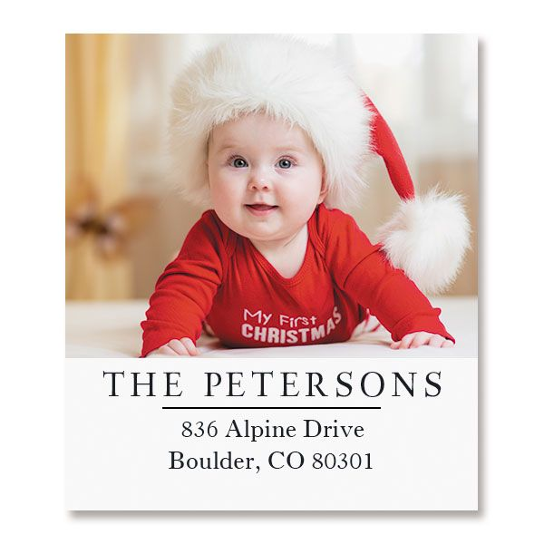 Select Photo Personalized Address Labels
