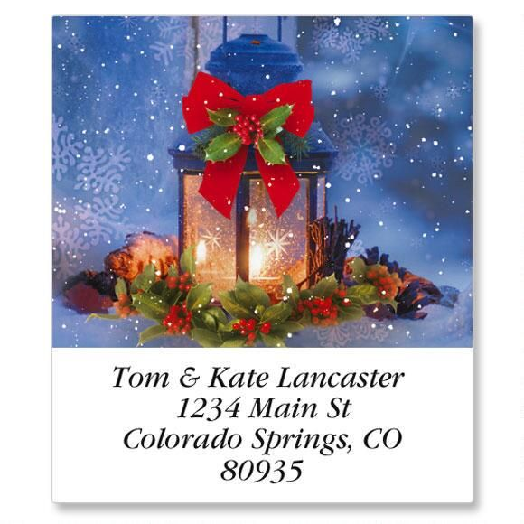 Christmas Calm Select Address Labels