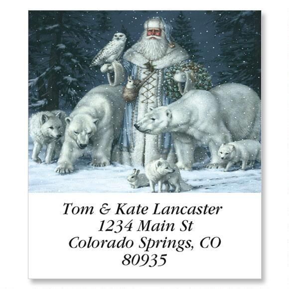 Christmas Splendor Select Address Labels