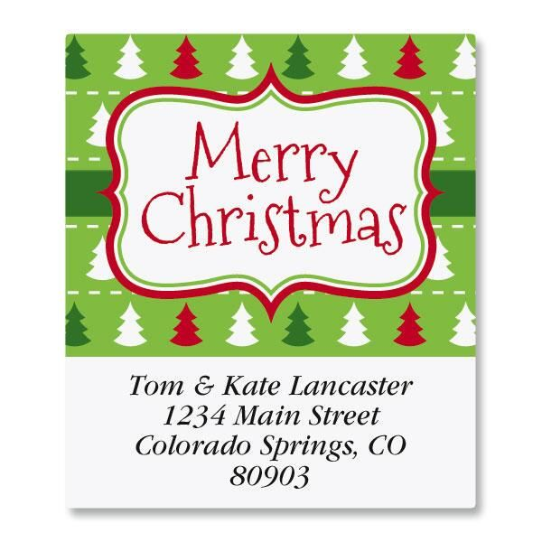 Holiday Frame Select Address Labels