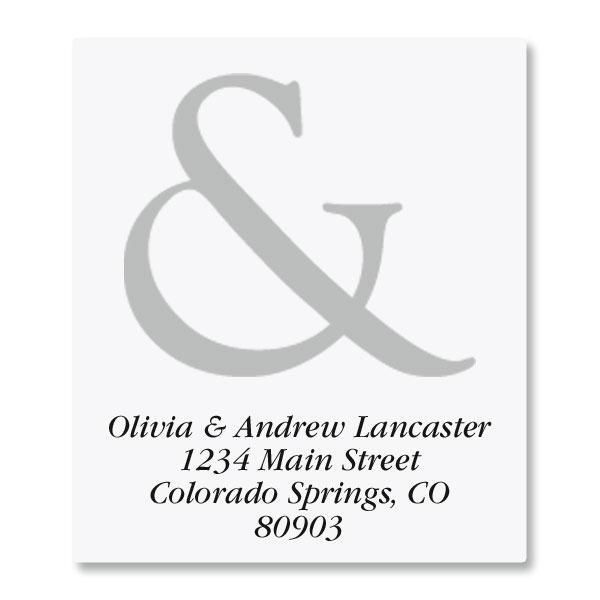 Ampersand Select Address Labels