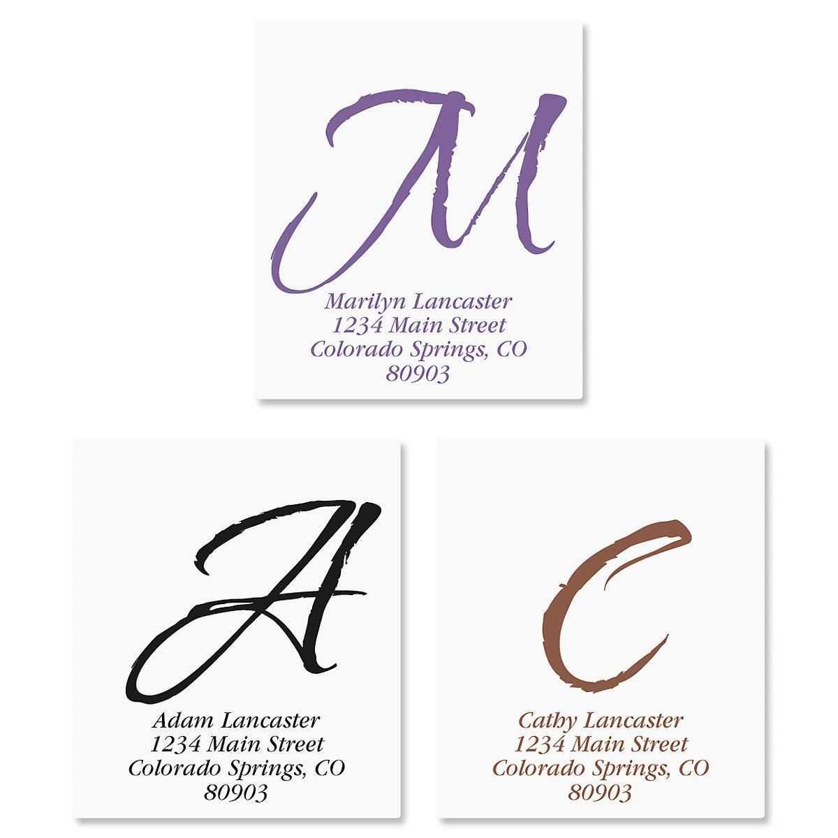 Inspirational Select Address Labels