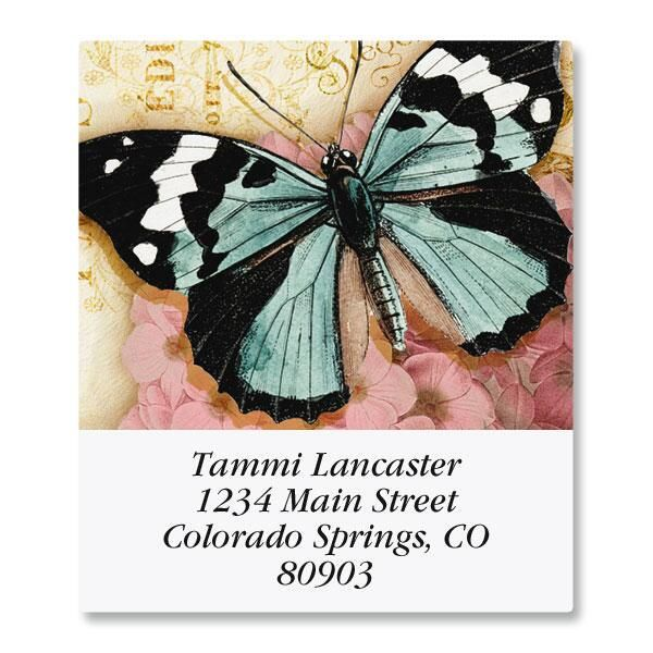 Butterfly Select Address Labels