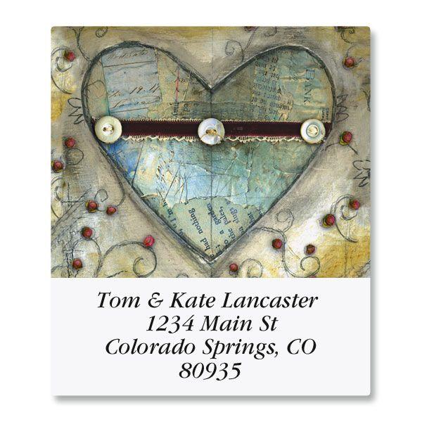 Heart Select Address Labels