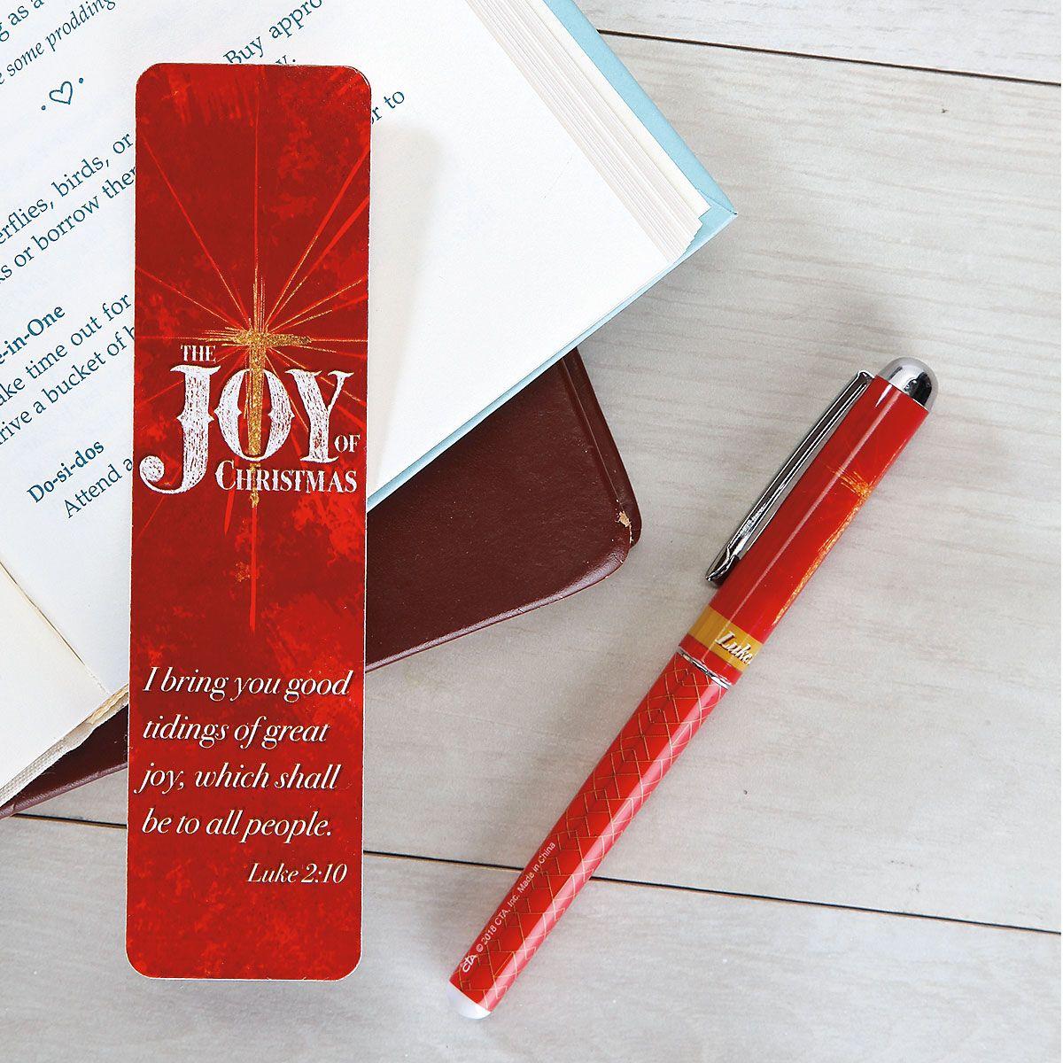 Joy Pen & Bookmark Set