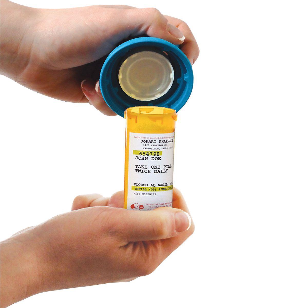 Medicine Bottle Magnifier & Opener